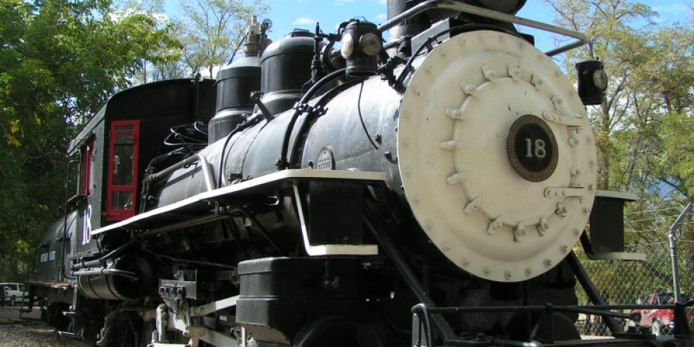 Narrow Gauge steam engine #18, from the Carson and Colorado Railroad, has been restored by volunteers and is one of the Museum\'s railroading artifacts. – Independence Chamber of Commerce