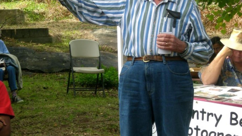 Jim Barton, grandson of Kaweah Colonist Jason Barton – CJS