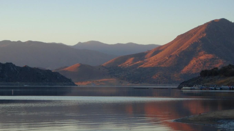 Sunrise on Isabella Lake – Cynthia Allred