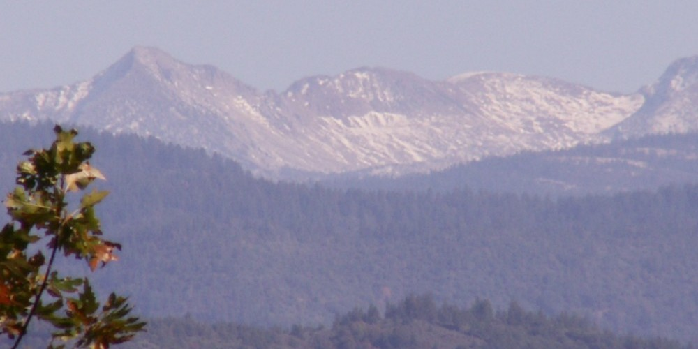 Close up view toward Yosemite from John Muir Highway - 2009 photo – Ken Pulvino
