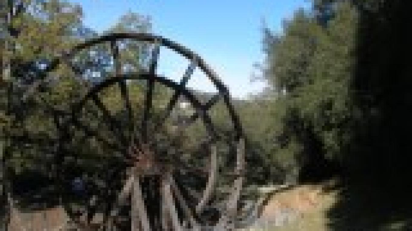 Kennedy Mine Tailing Wheels - part of the Kennedy Gold Mine Historic District – City of Jackson