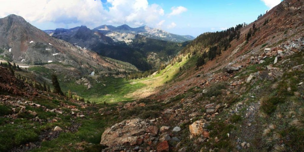 Looking back toward Mineral King on the Crystal Lake Trail. – RCain/NPS