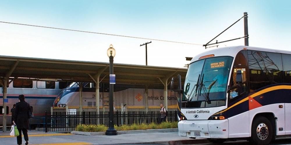 The Sacramento station is a hub for numerous Amtrak California Thruway bus routes. – Amtrak
