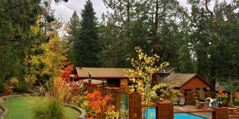 Fall Landscape – Cedar Glen Lodge