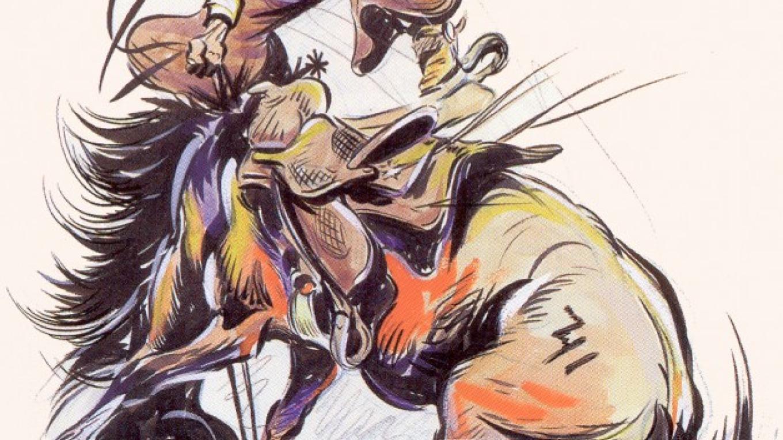 Bronc Riding – Fred Harman
