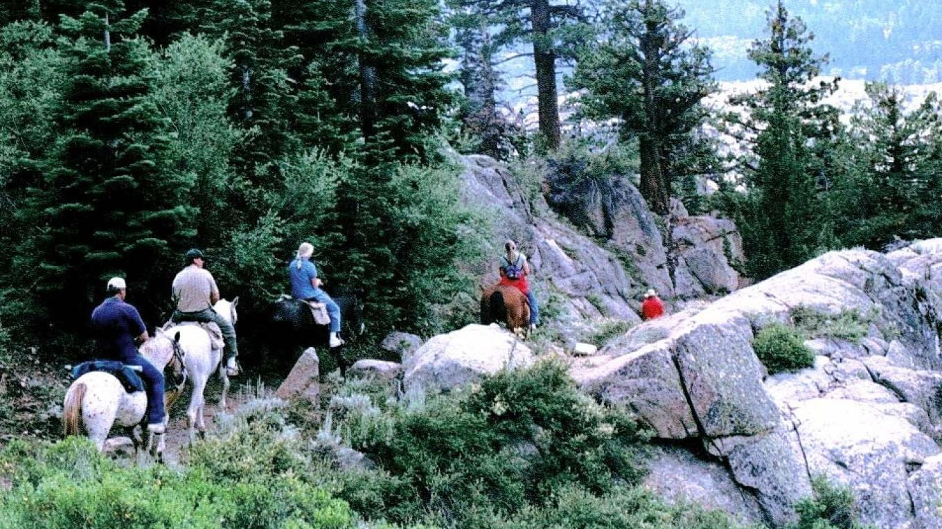 Heading out for the Emigrant Wilderness – Kennedy Meadows Resort & Pack Station