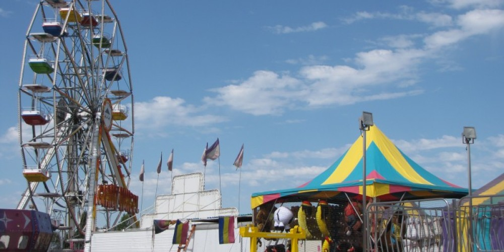 Of course the fair has a Ferris wheel, and many other rides. – Ben Miles