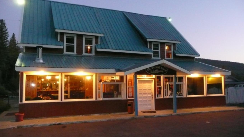 Front of St. Bernard Lodge