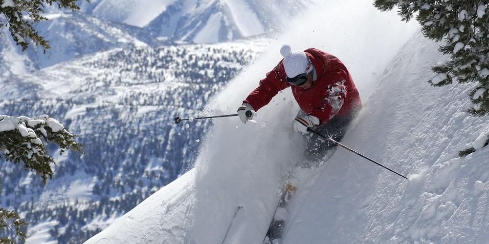 Powder Skiing, Mammoth Mountain
