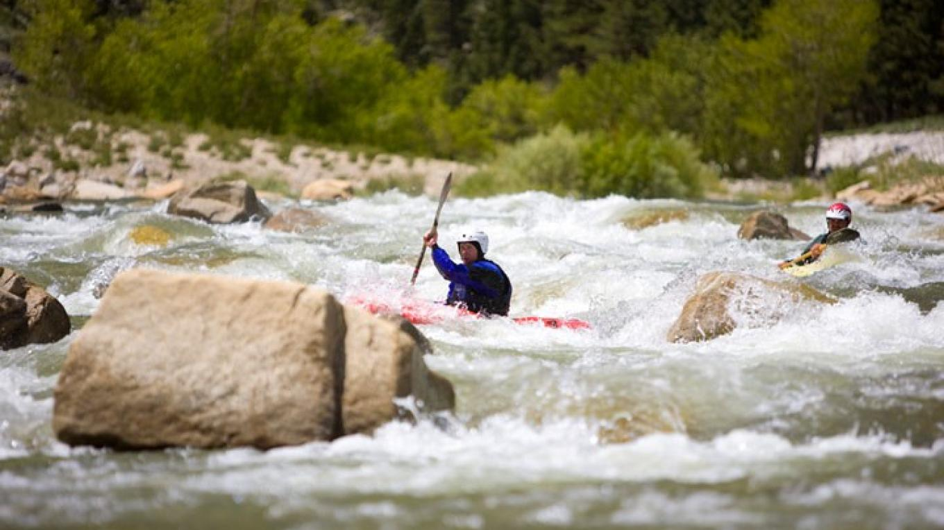 Kayaking the Walker River (early spring) – Christian Pondella