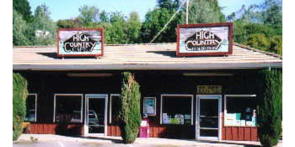 High Country Health Food and Cafe