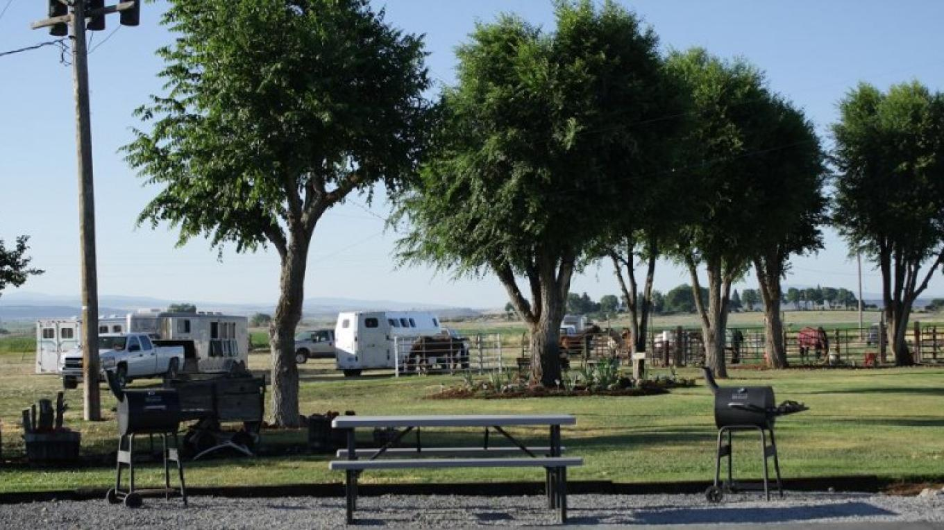 West Picnic Area with Equestrian Area in Background – Eddy Price