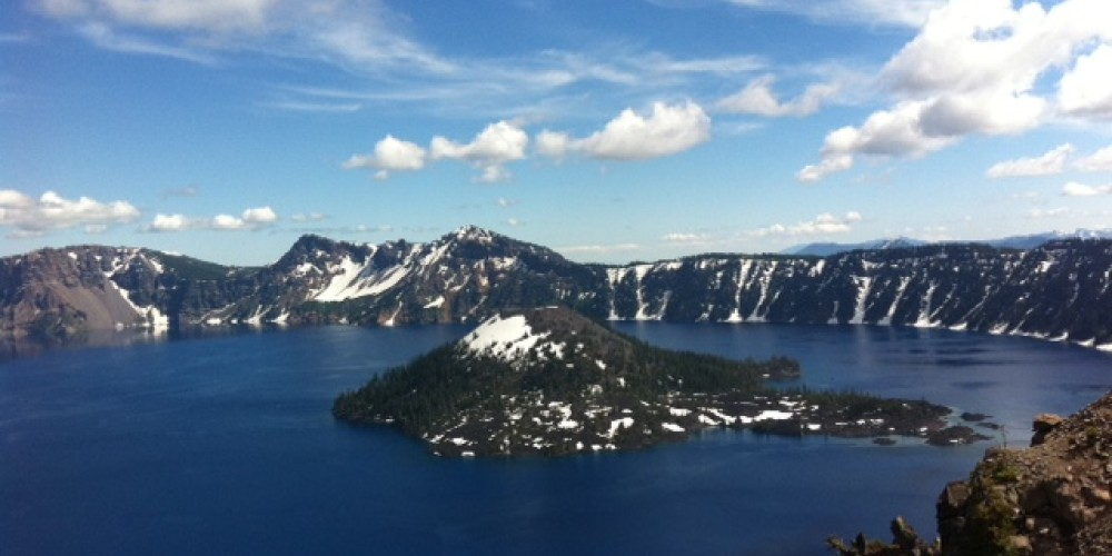 Crater Lake National Park, July 2011 – by Allison Scull