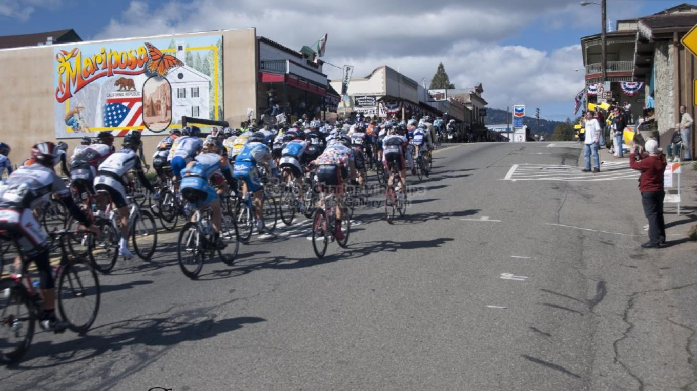 Tour of California Amgen Race in Mariposa – Charles Phillips