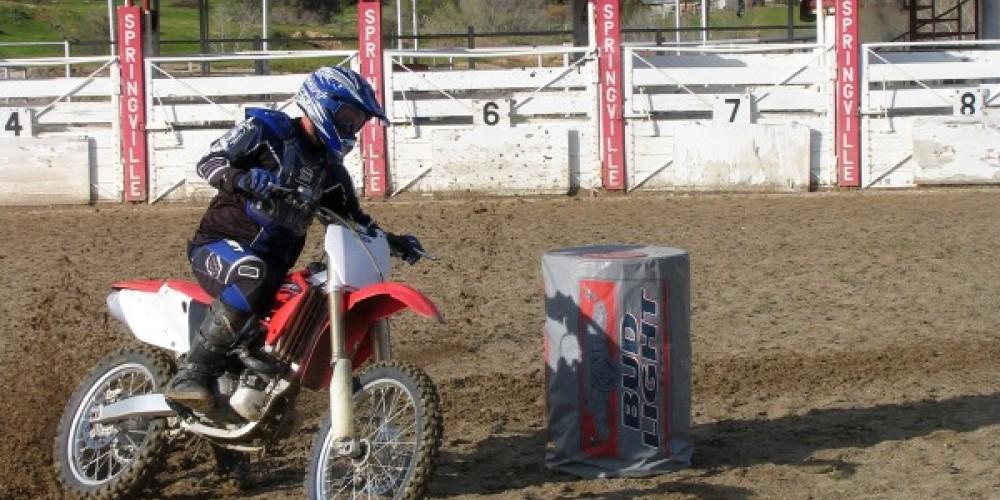 Motorcycle Barrel Race – MM Jr.
