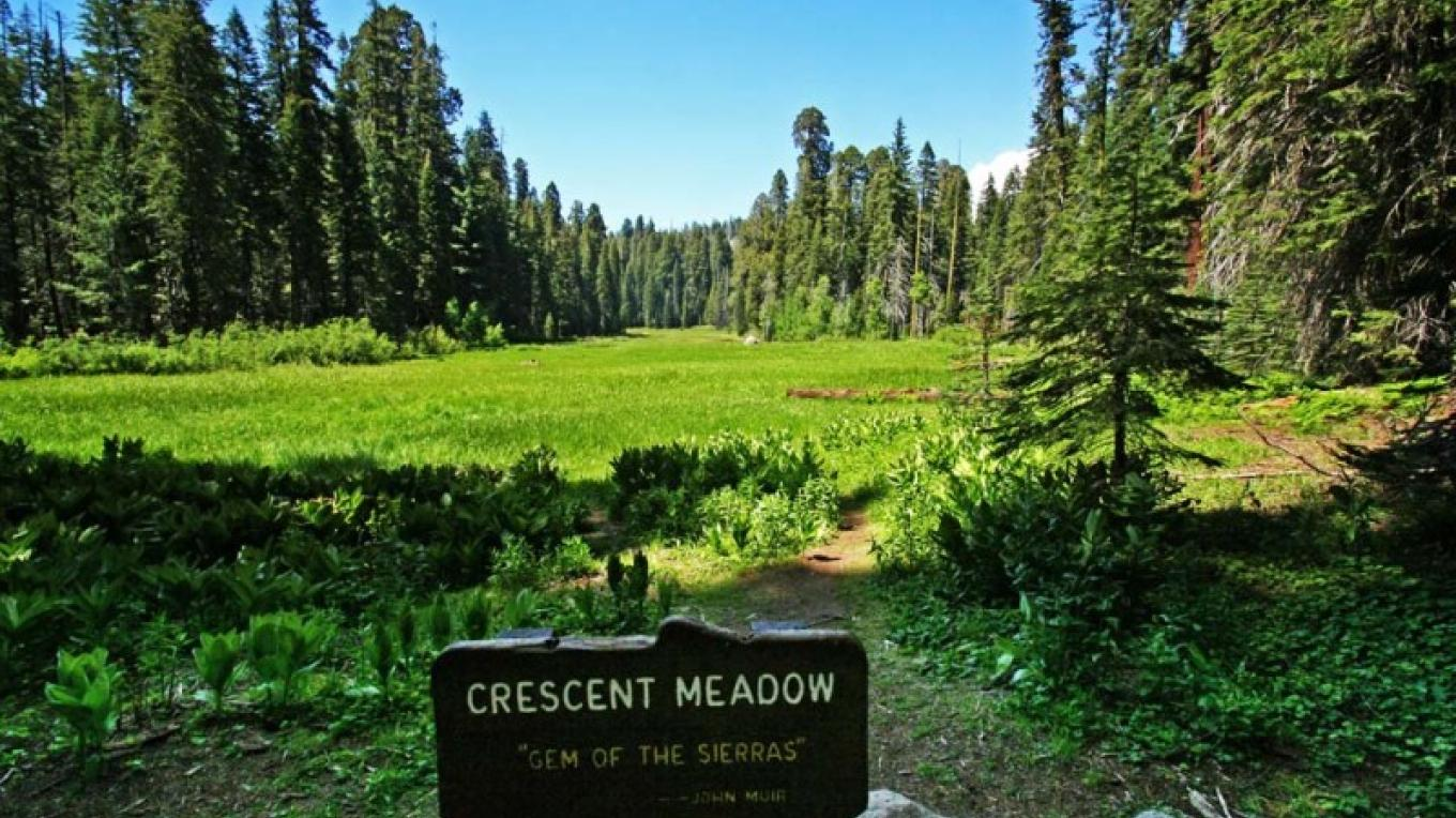 Crescent Meadow – NPS/Rick Cain