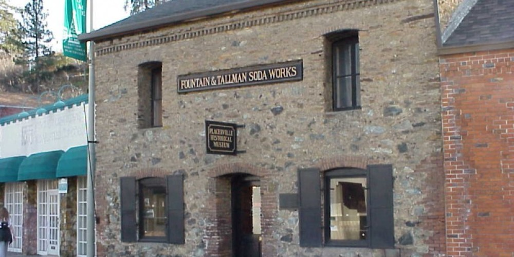 Placerville Museum in the historic Fountain and Tallman Soda Works Building, 524 Main Street, Placerville – Bonnie Duffy Wurm