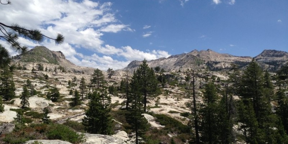 Crystal Basin is easily approachable from Wright's Lake located off of Highway 50 in El Dorado County. – www.SierraSkiandCycleWorks.com
