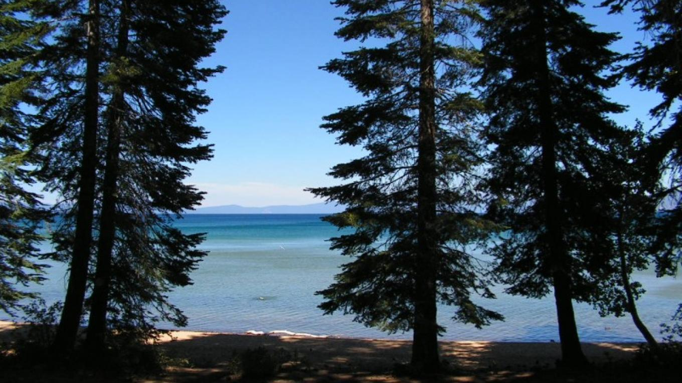 Lake Tahoe from the Pope House steps – Robin Shriver
