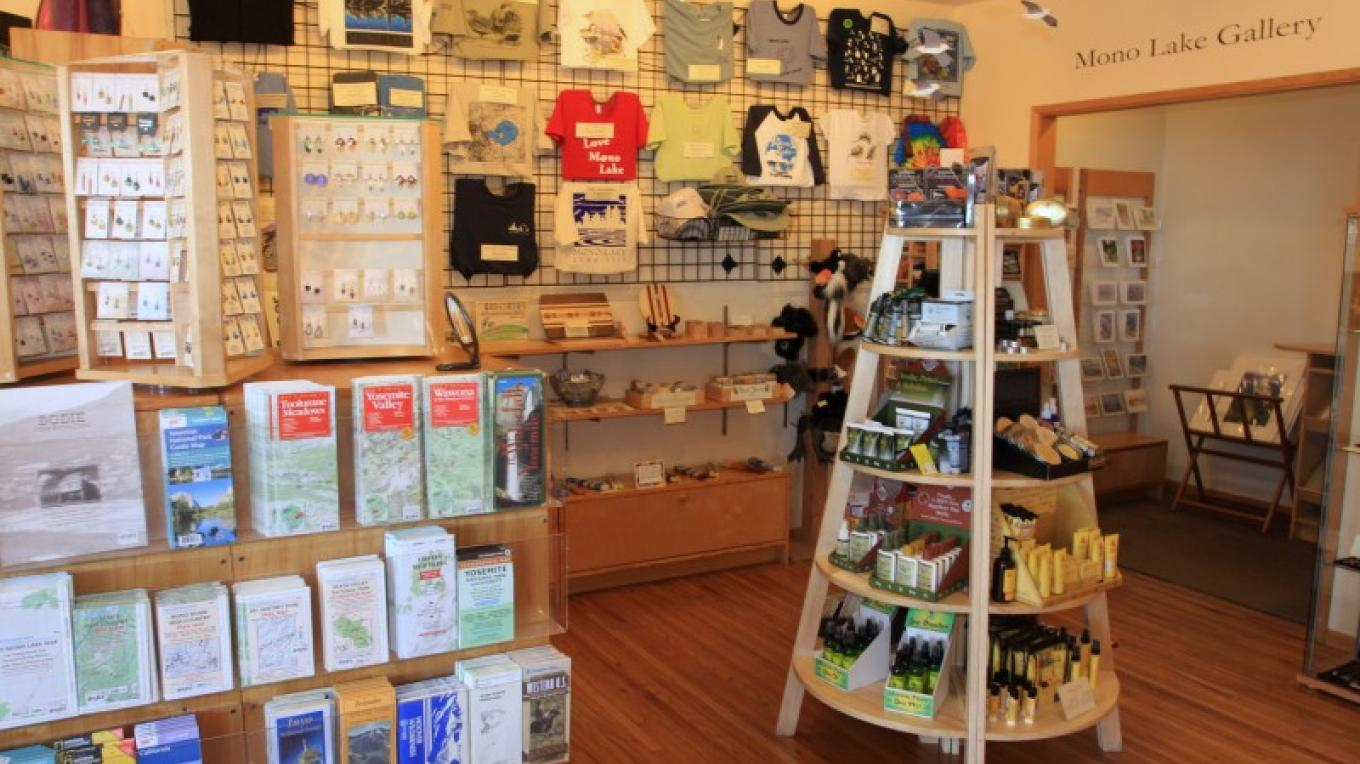 The Committee also carries T-shirts, water bottles, jewelry, kids' books and toys, mugs, postcards, local handcrafted items, gifts, and fine art. – Arya Degenhardt