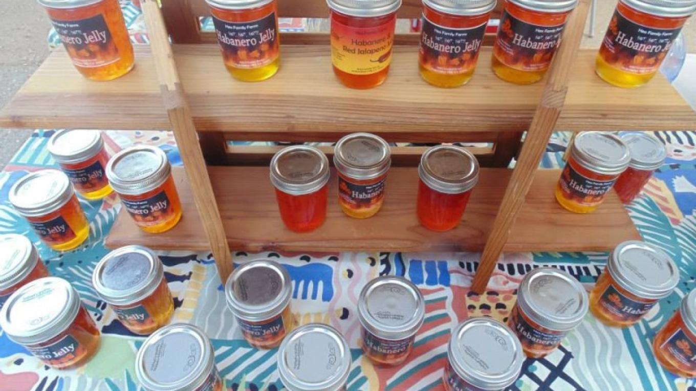 Habanero jelly is just one of the unique locally-made foods you'll find at the Jackson Farmers' Market. – Amador County Farmers Market Association