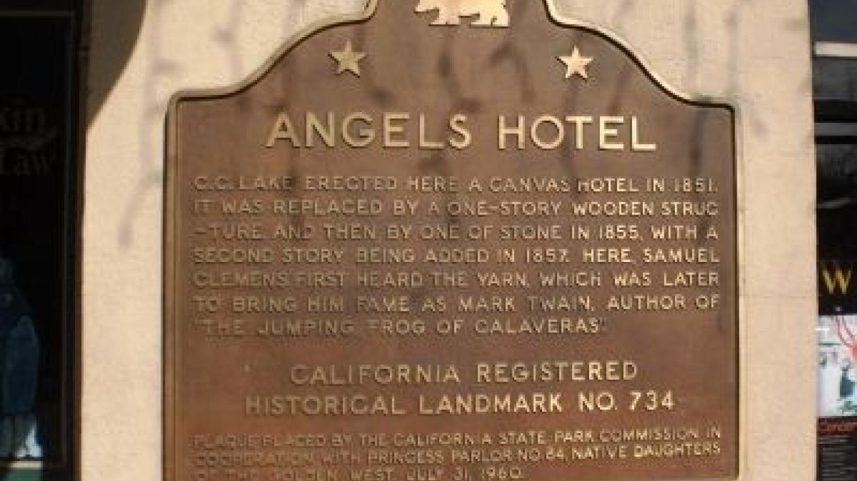 Angels Hotel marker – Andrew Ruppenstein