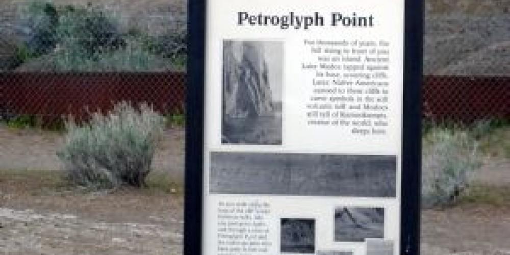 Marker at Petroglyph Point – Lorissa Soriano