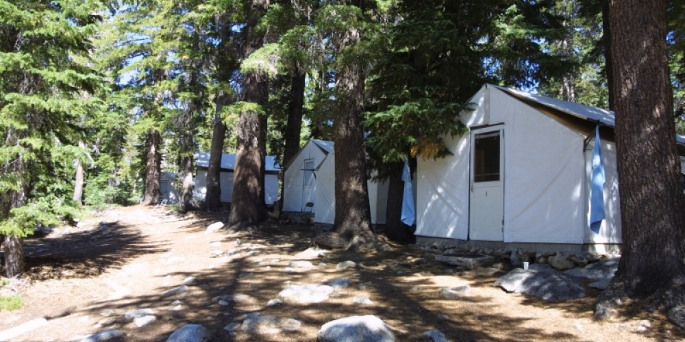 Tent Cabins at May Lake High Sierra Camp
