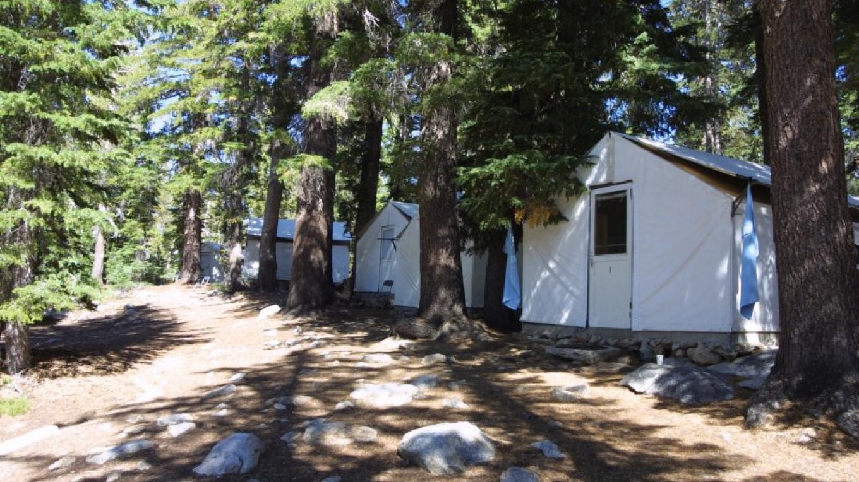 Tent Cabins at May Lake High Sierra Camp