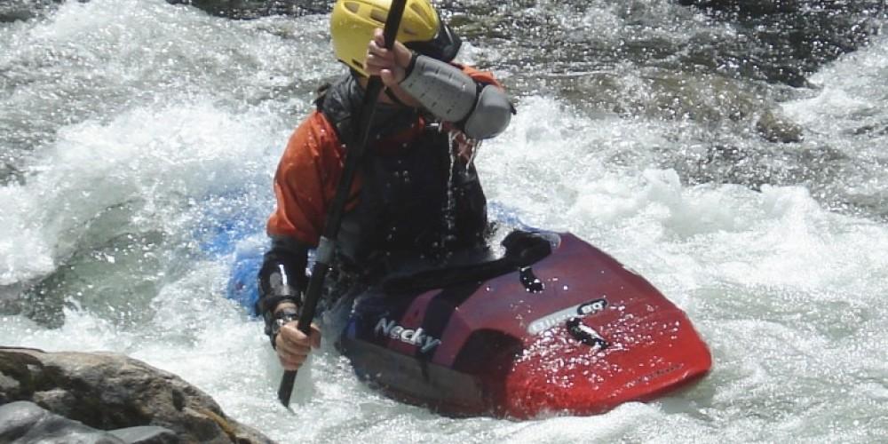 Kayaker Dave Steindorf on Tiger Creek Dam Run – Katherine Evatt