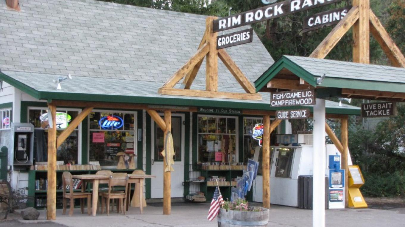 General Store at Rim Rock Ranch in Old Station. – Ben Miles