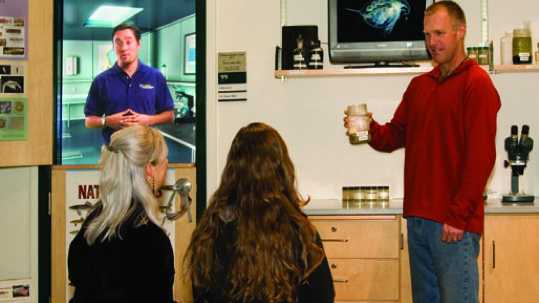 Virtual laboratory exhibit – Jim Markle