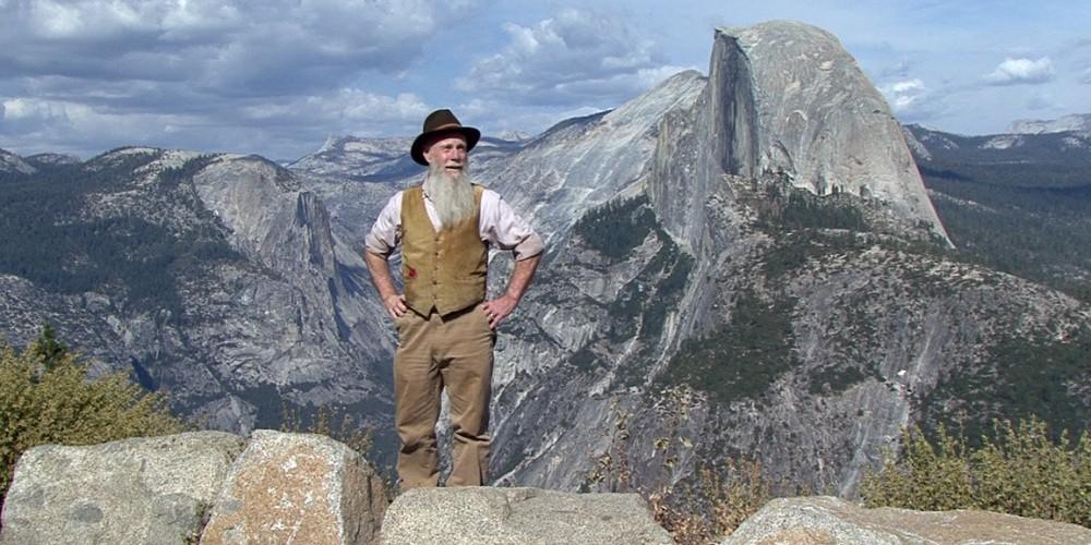 John Muir (Lee Stetson) and Half Dome – Lee Stetson