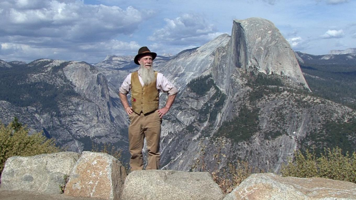 John Muir (Lee Stetson) and Half Dome – Lee Stetson