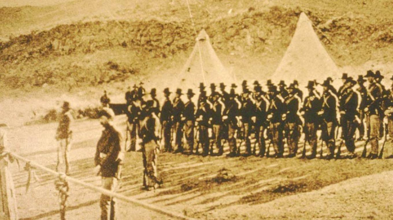 Gillem's Camp 1873 – From Lava Beds National Monument Websiter
