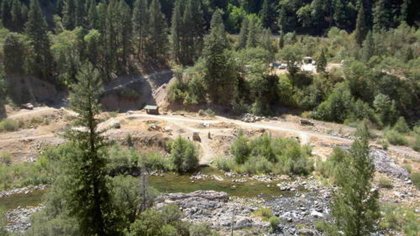 Feather River at Rich Bar today – Panoramio