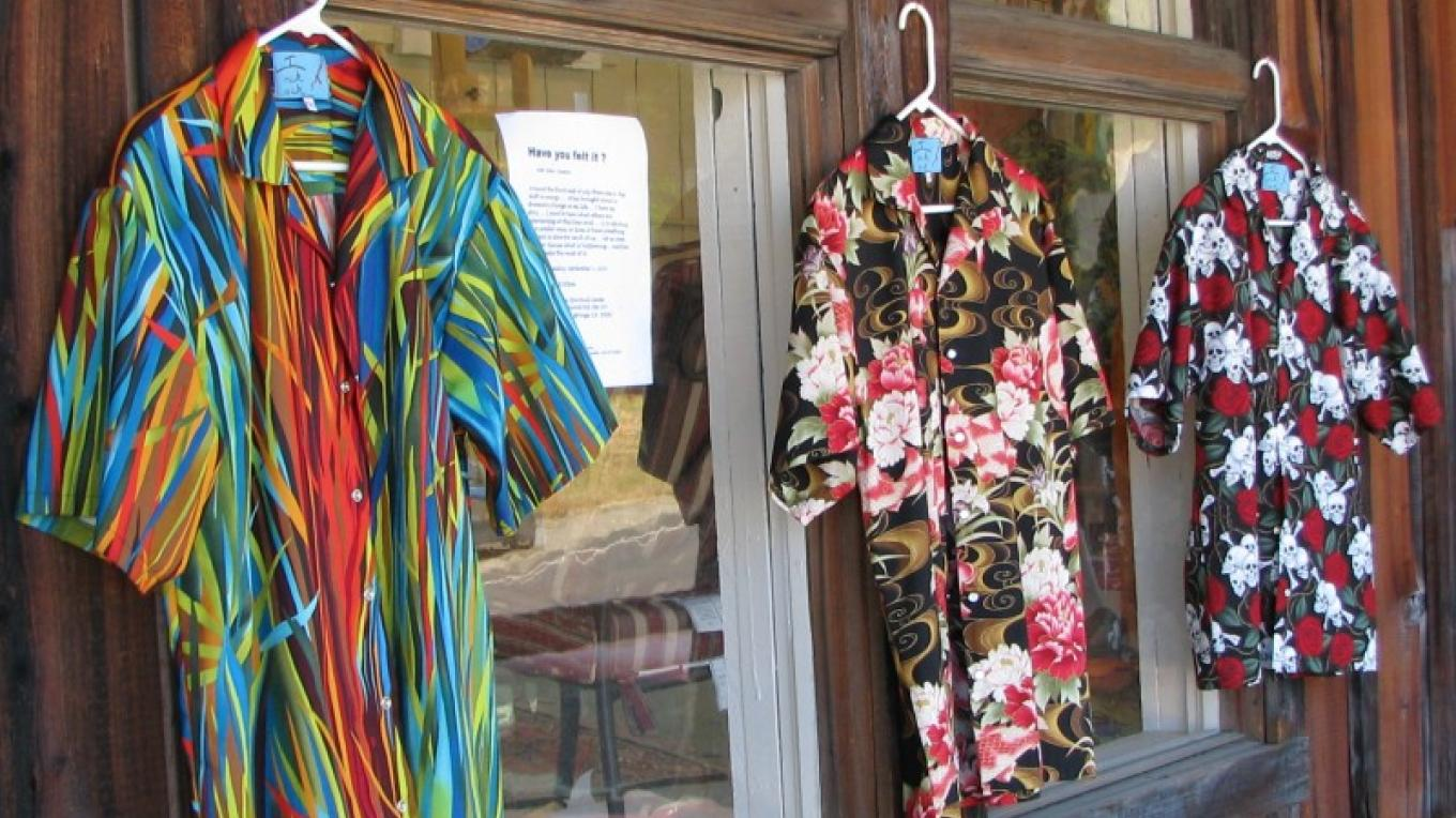 All shirts are handmade. Some off the rack, others custom made. – Karrie Lindsay