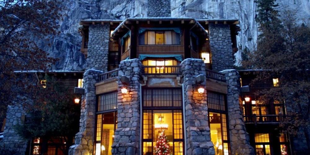 The Majestic Yosemite Hotel in winter – Chris Falkenstein