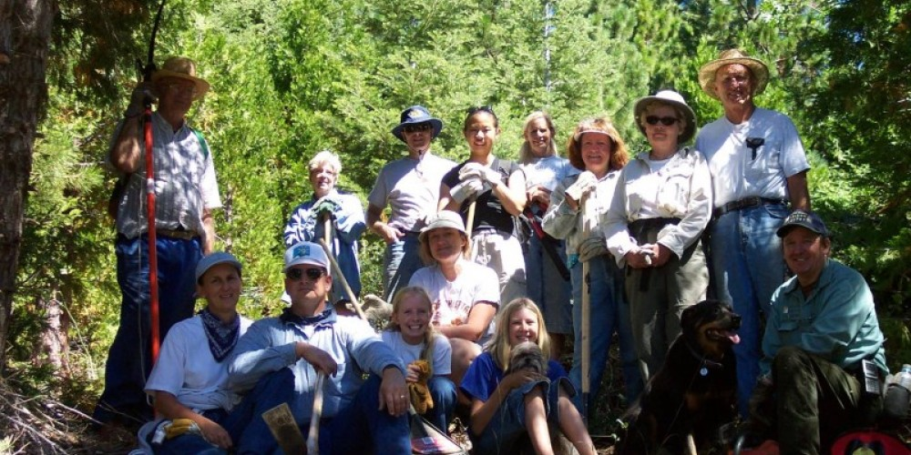 Trail Work Volunteers