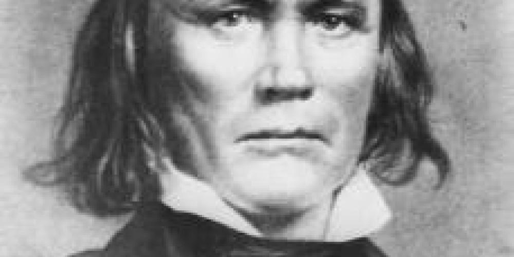 Famous explorer, Kit Carson – Library of Congress