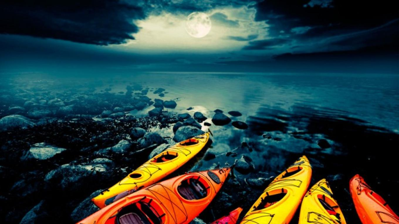Full Moon Kayak Adventure Tour - Lake Tahoe – Tahoe Jack's Adventure Authority