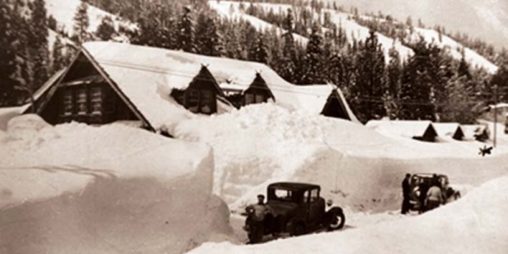 The early ski days at Homewood Mountain Resort – Courtesy of Homewood Mountain Resort