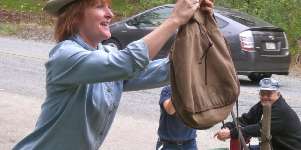Hanging up the incoming mail sack – CJS