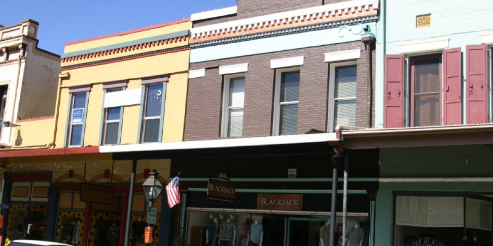 Facades on Mill Street – H. Levine