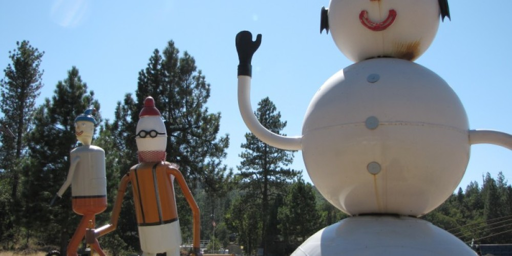 Winter figures at Packway. – Ben Miles