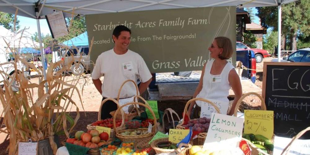 Growers Market vendors: Starbright Acres Family Farm – Doug Forster