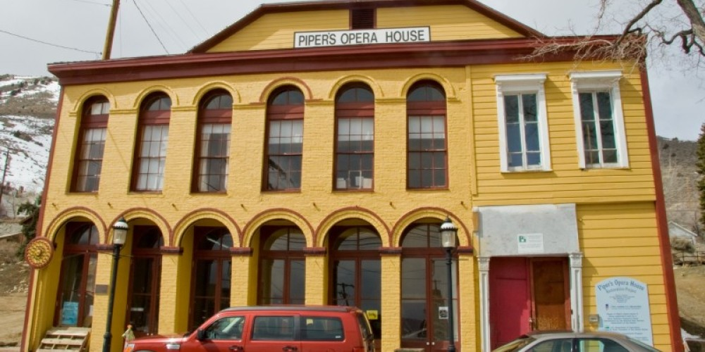 Historic Piper's Opera House is a main attraction in Virginia City that still hosts performances in a 19th century atmosphere. – Nevada Commission on Tourism