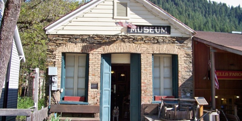 Street view of the Downieville Museum 330 Main Street, Downieville, CA – Lee Adams
