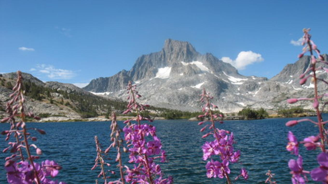 Thousand Island Lake and Banner Peak, just off the Pacific Crest Trail in the Ansel Adams Wilderness of California. – Mark Larabee, The Oregonian
