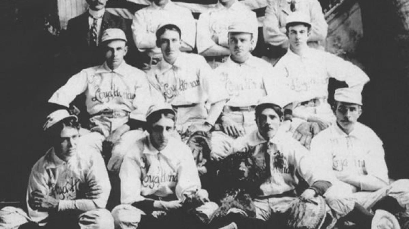 Loyalton baseball team--1902 champions – unknown